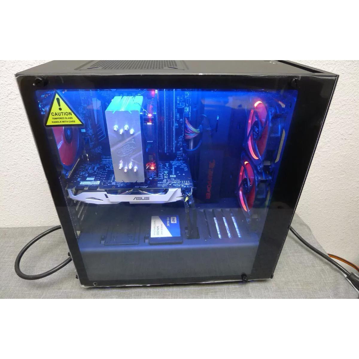 Torre Gamer I7 – 12Nucleos 16gb 500Ssd 2Tb